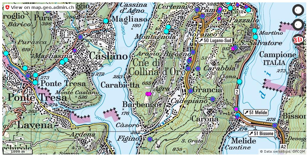 Collina d'Oro Handy antennen netz Natel http://ift.tt/2qNSJps #geoportal #swiss