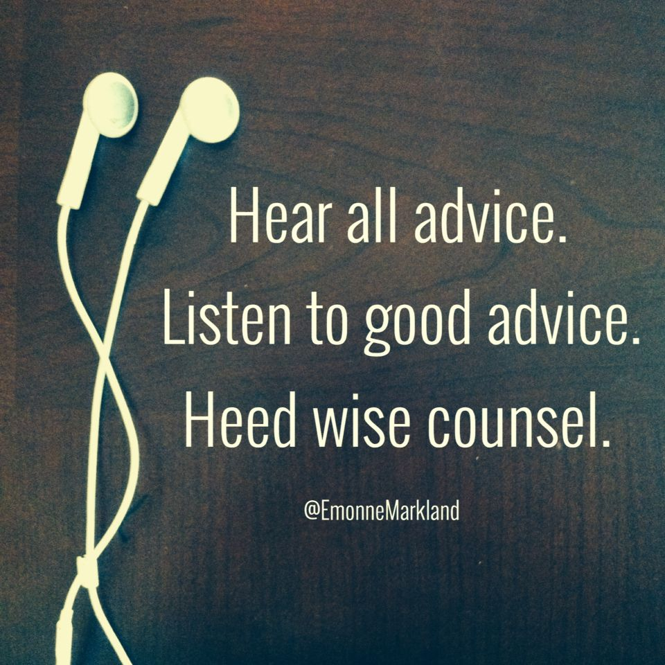 Image result for Heeding Wise Counsel Picture
