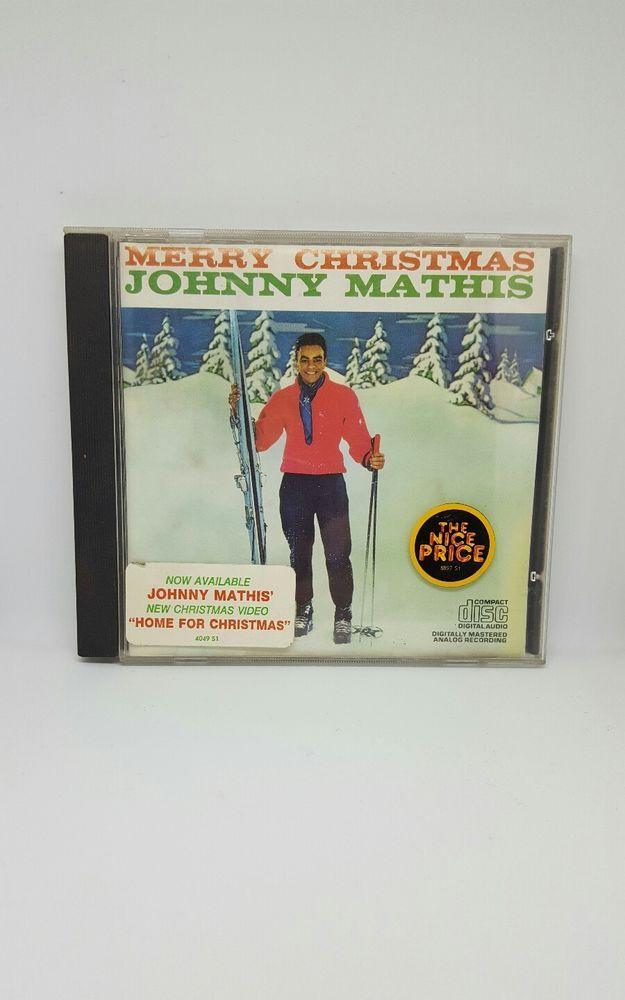 Merry Christmas by Johnny Mathis CD   Music, CDs   eBay!   Christmas ...