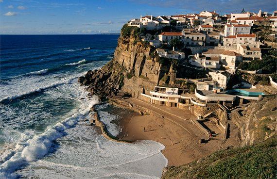 La aldeíta de Azenhas do Mar.