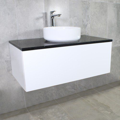 Eden Wall Mount Vanity Cabinet Without Top 900mm Highgrove