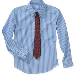 87cbfdc52ca George Boys Packaged Dress Shirt and Tie Set