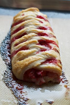 Homemade Berry Pastries with Puff Pastry Recipe