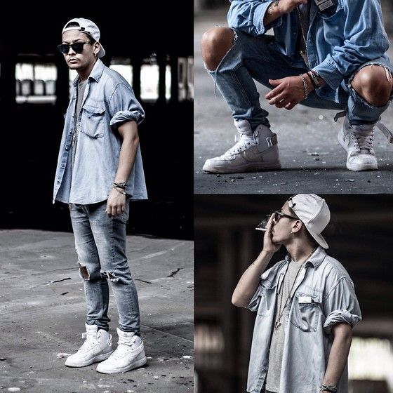 Nike Af1 Id, Cheap Monday Ripped Jeans