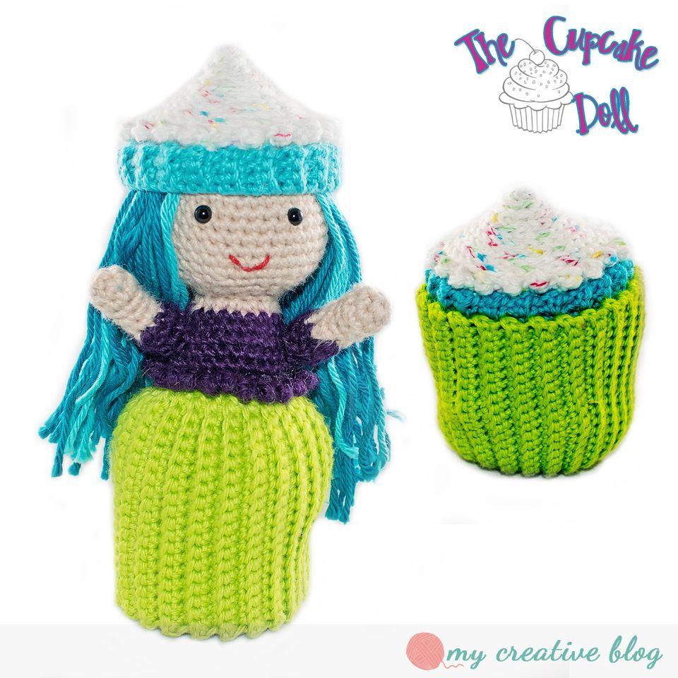 Cupcake Doll Crochet Pattern Hkeln Pinterest Crochet