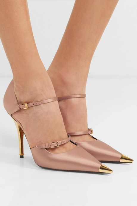 There is so much yes going on here, but those nude heels