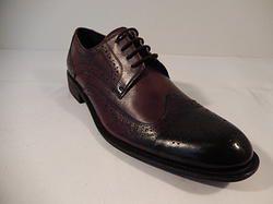 "Encore ""W"" Hand Stitched Dress Shoe Brown"
