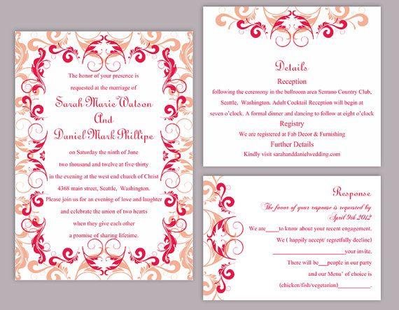 Formal Invitation Templates Wedding Invitation Template Download Printable Wedding Invitation .