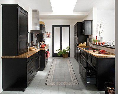 Cuisine 39 bistro 39 de lapeyre cuisine cuisine bistro cuisine lapeyre et cuisine noire et bois - Cuisine petit espace lapeyre ...