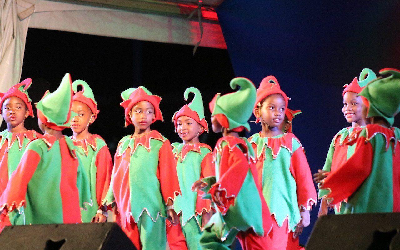 Joy in Jubilee Gardens . . . Public Workers concert ushers