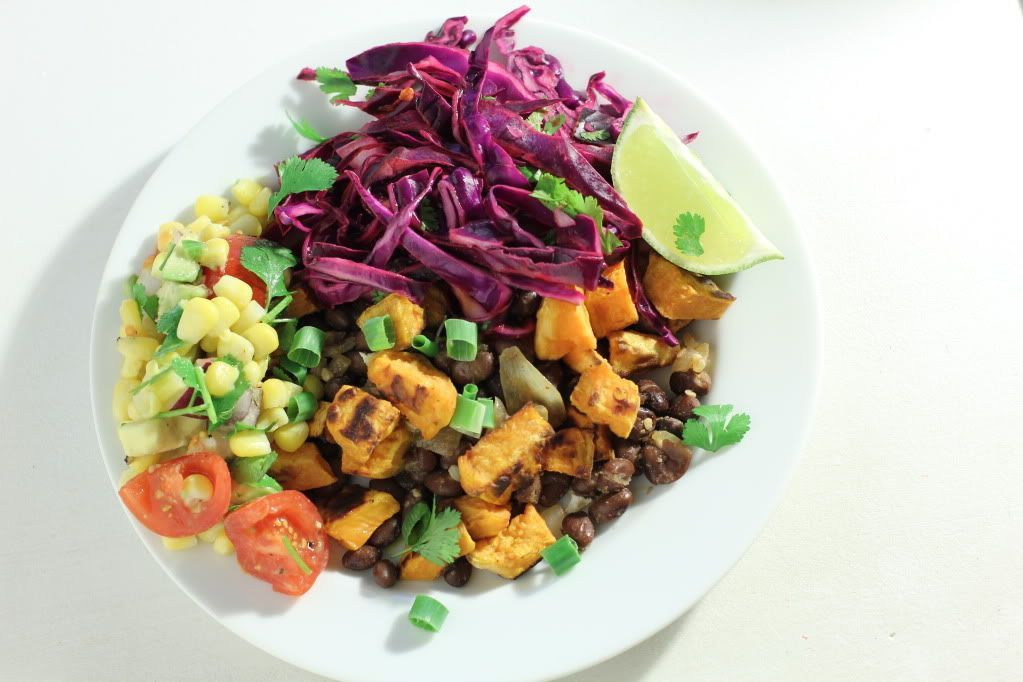 Naked Vegan Tacos with Corn Relish and Cilantro-Lime Slaw Naked Vegan Tacos with Corn Relish and Cilantro-Lime Slaw - Willow Bird Baking #cilantrolimeslaw
