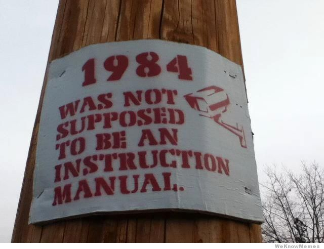 1984 was not supposed to be an instruction manual oops i politico rh pinterest com Instruction Manual Clip Art Operators Manual