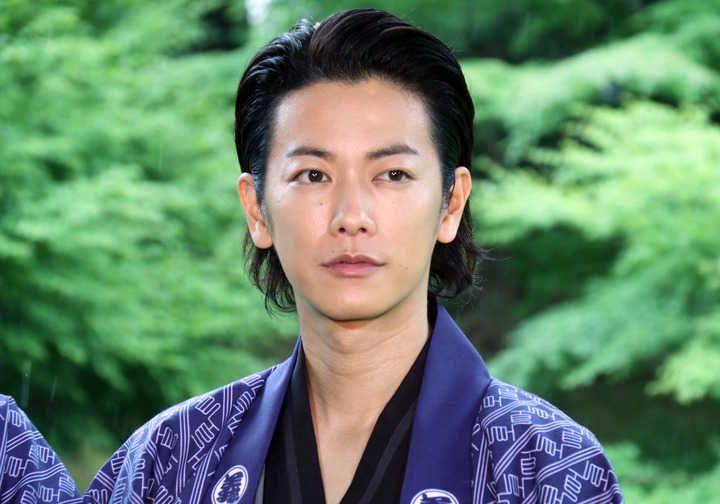 俳優の佐藤健さんが5日、東京都内で行われた女優の綾瀬はるか