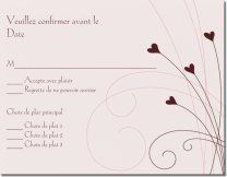 Modles De Faire Part Cartes Rponse Invitations Mariage Organisation