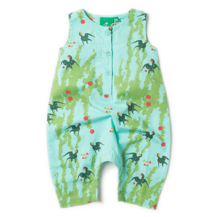 b8bfa0430 Piccalilly Rainbow Ark Dungarees