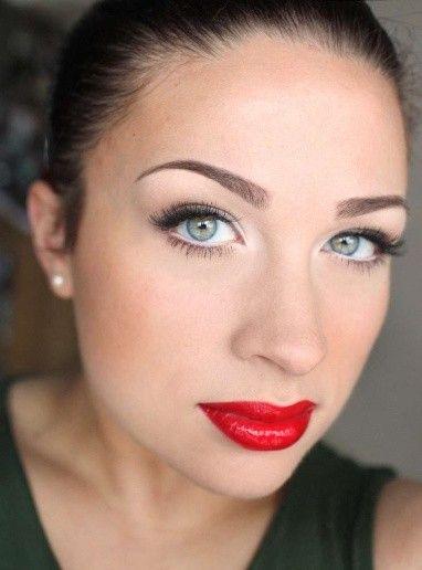 PERFECT Brows. Overall Nice Makeup.