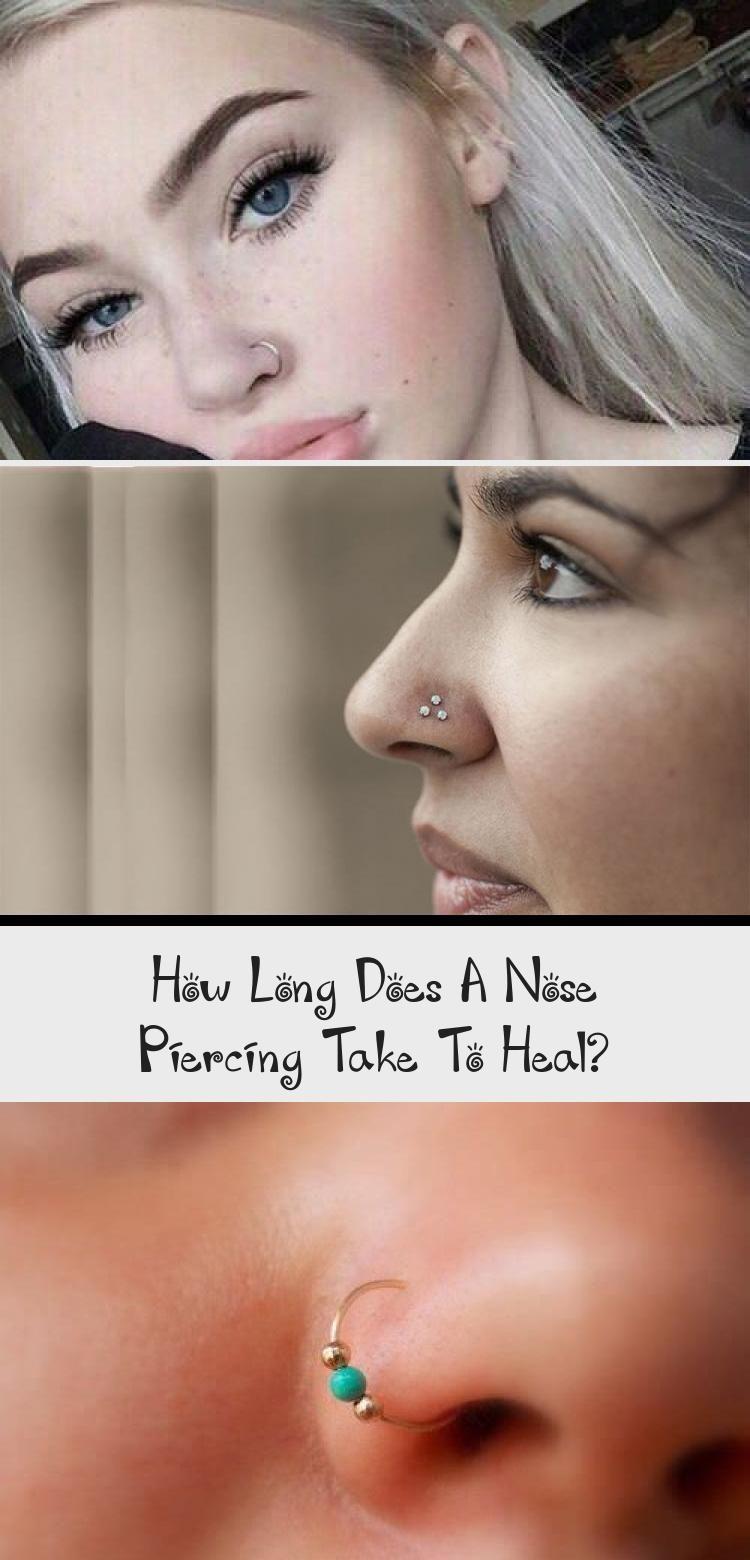 How long does a nose piercing take to heal? - PIERCINGS - Any kind of pie ... - ... -  How long does a nose piercing take to heal? – PIERCINGS – Any kind of pie … –  How long doe - #Artdecoengagementring #Beachglassjewelry #Heal #ideasdiyjewelry #Kind #Long #noisepiercing #Nose #Pie #piercing #piercings