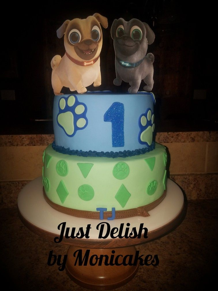 Puppy Dog Pals Birthday Cake For 1 Year Old Cake Birthday