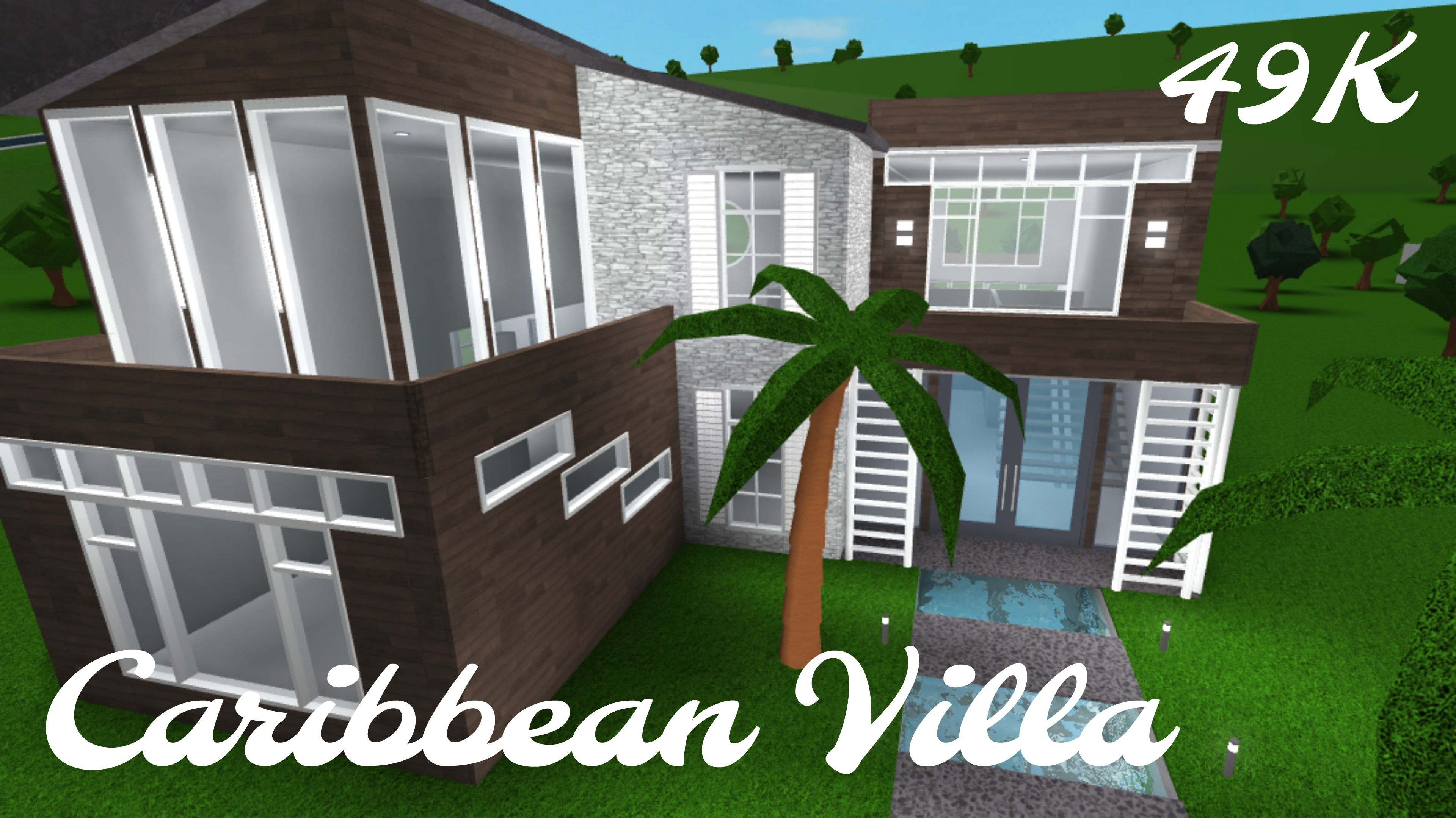 Caribbean Villa Bloxburg Mimi Mclee House Decor Rustic Modern House Caribbean Villas