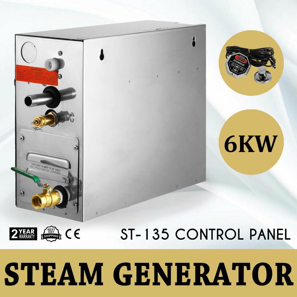 Ebay Sponsored 6kw New Steam Generator Sauna Bath Home Spa Shower