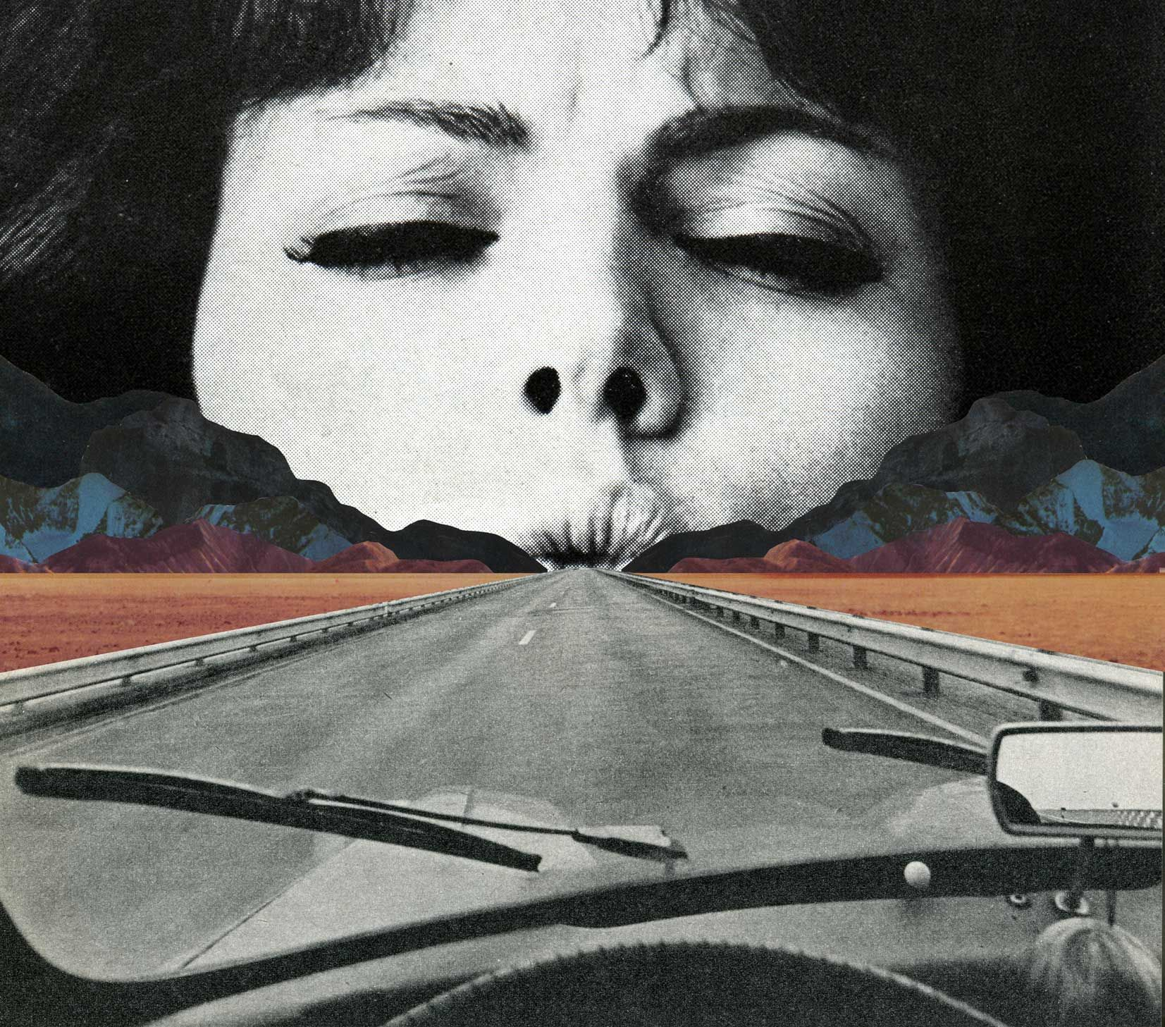 Going Nowhere. Sammy Slabbnick is a Belgian collage artist who ...