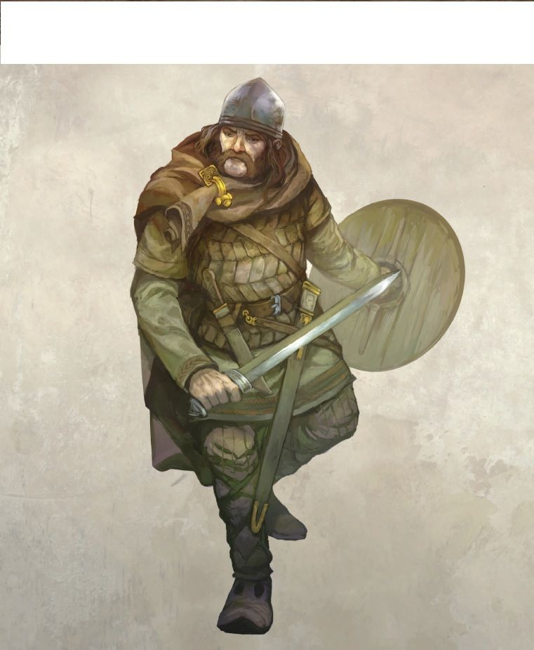 Middle Earth Northern Warrior | Character art, Character sketches ...