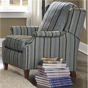 flexsteel zevon high leg recliner