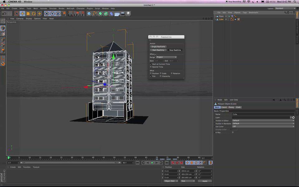 Paper Model Building - Cinema 4D | #CINEMA4D | Cinema 4d
