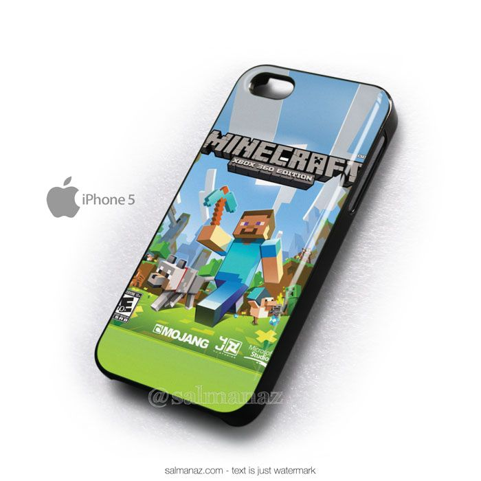 Minecraft Games Xbox 360 Edition iPhone 5 Cover Case