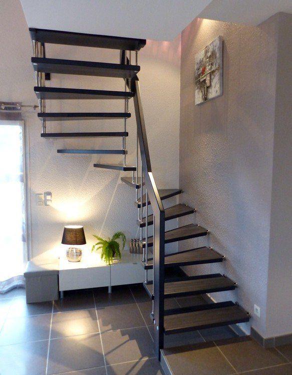 Epingle Par Dallau Sur Escaliers En 2020 Escalier Suspendu