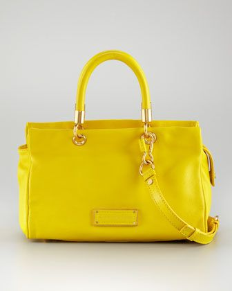 Too Hot to Handle Satchel Bag by MARC by Marc Jacobs at Neiman Marcus.