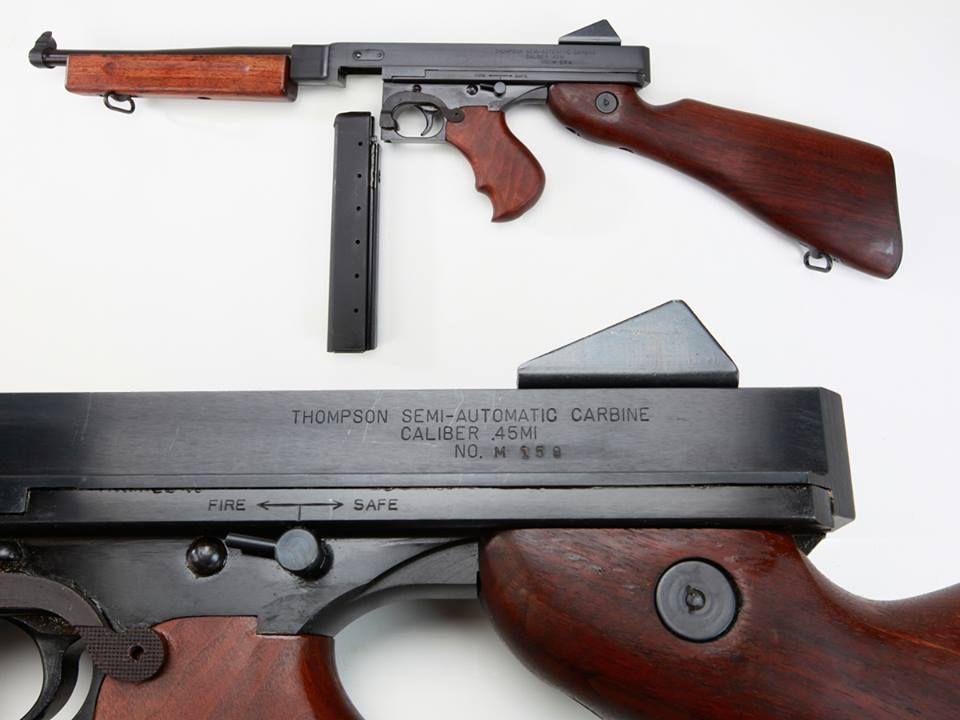 Thompson M1A1 Submachine Gun   Weapons and self-defense