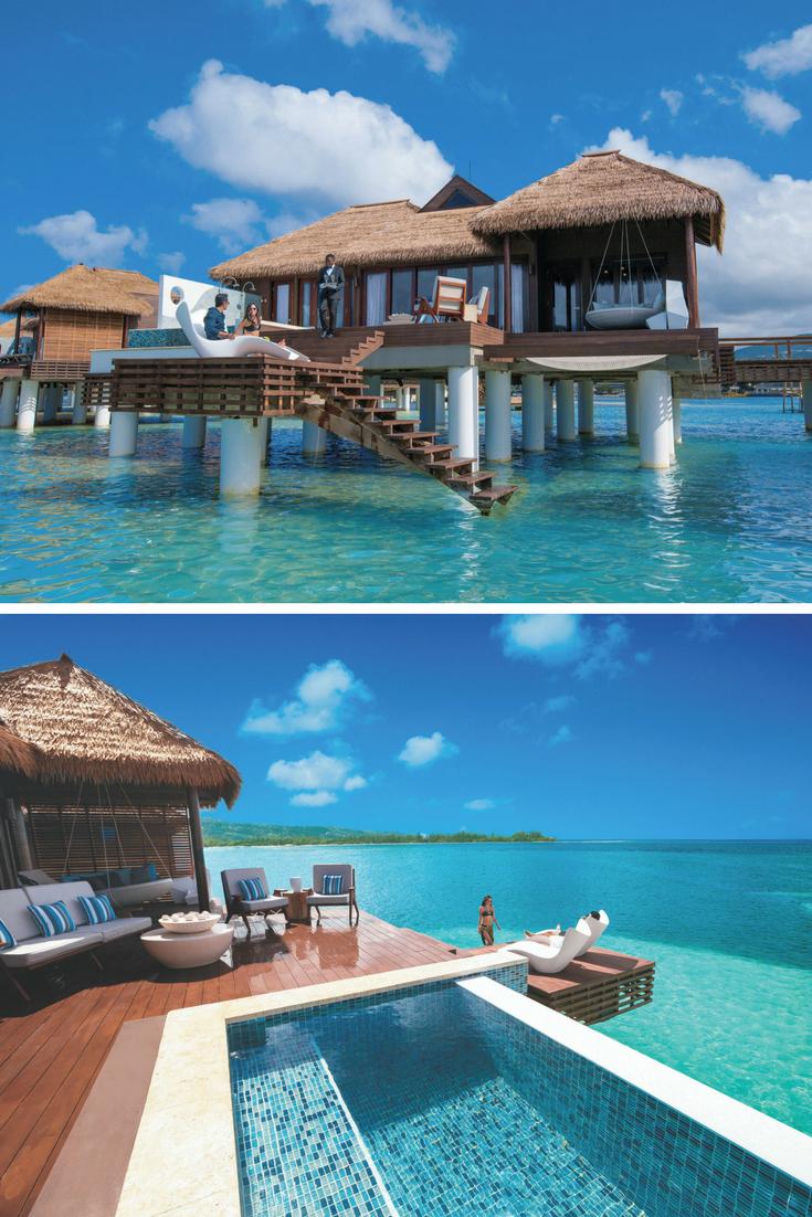 water Villas at Sandals Royal Caribbean