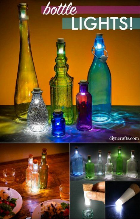 How To Transform A Glass Bottle Into A Decorative Lantern