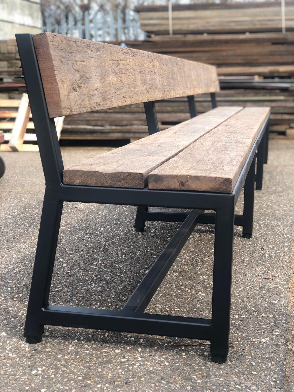 Ongekend Bankje (met afbeeldingen) | Metalen meubels, Meubel ideeën EE-61