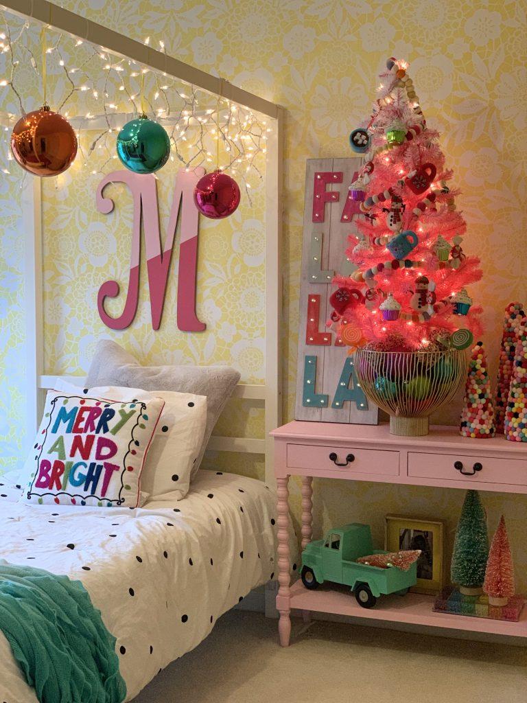 Colorful Christmas Tour 2019 Bedroom for girls kids