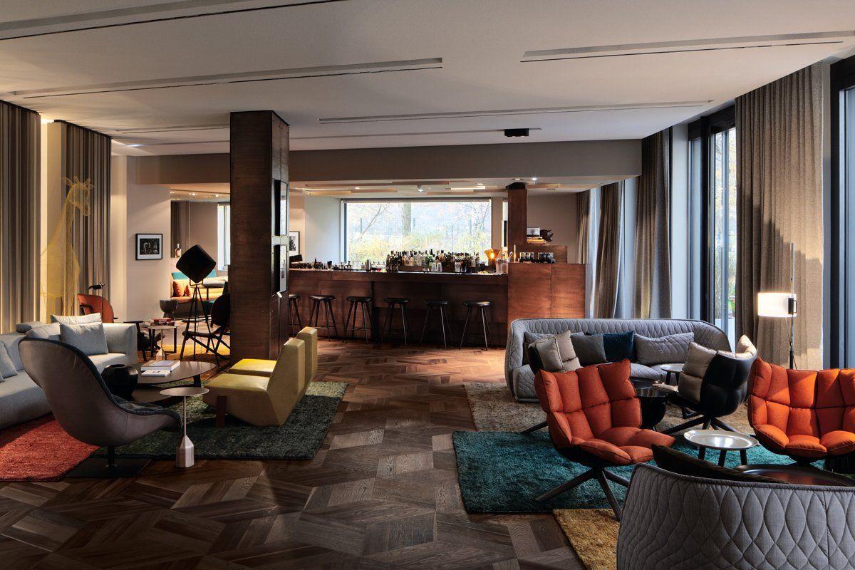 Inspirasi Desain Lobi Hotel Yang Kece Abiss Dengan Gambar