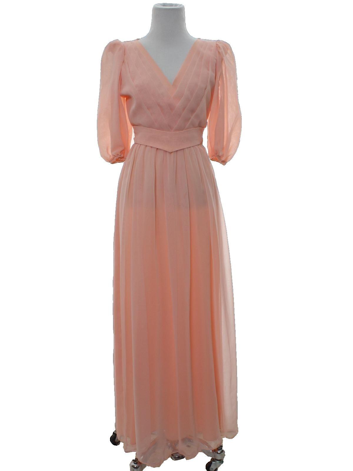 Rustyzipper Com Vintage Clothing Maxi Dress Cocktail 70s Prom Dress Dresses [ 1600 x 1200 Pixel ]