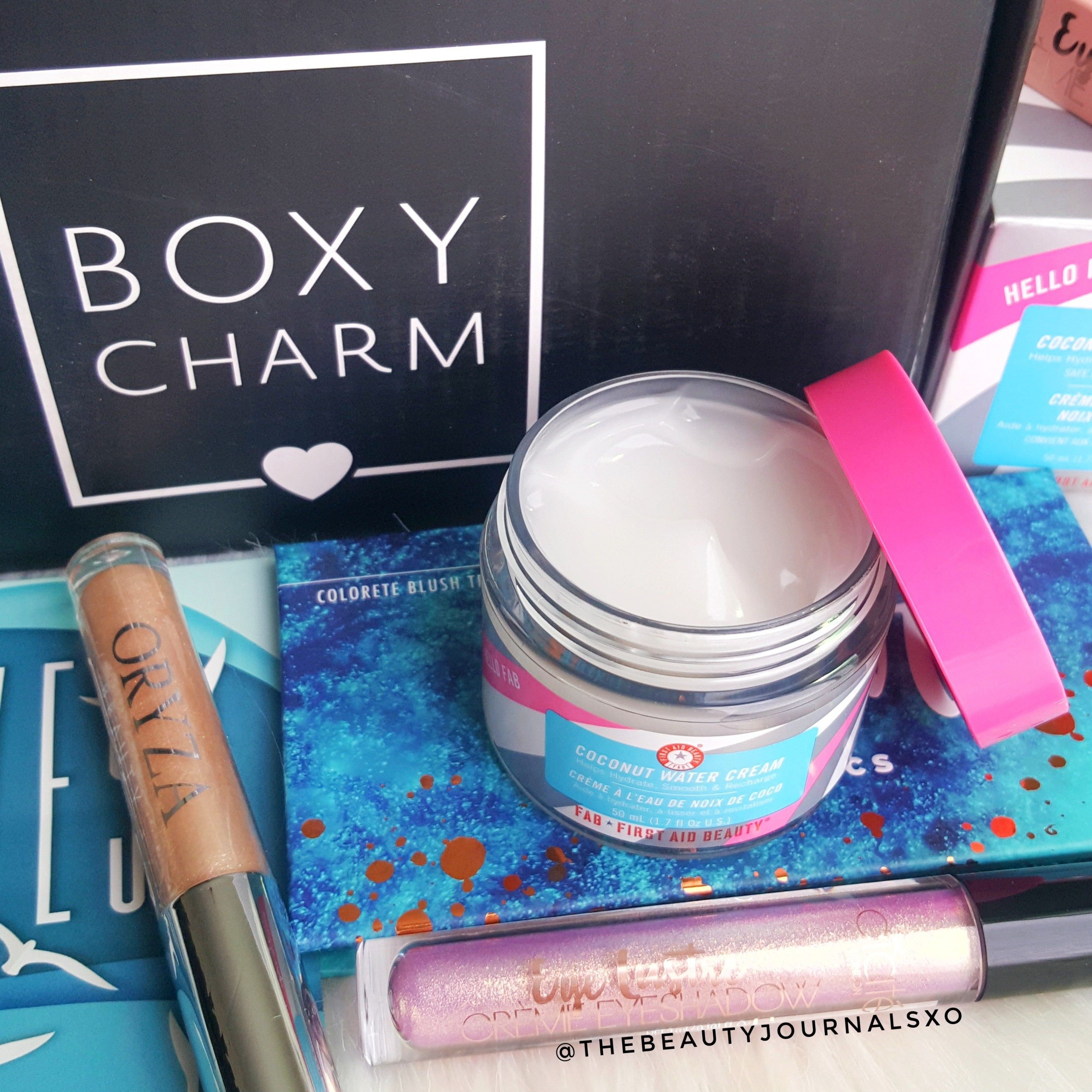 Boxycharm May 2019 Unboxing and Review Boxycharm, Milk