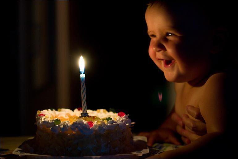 Прикольные картинки к дню рождения с малышами