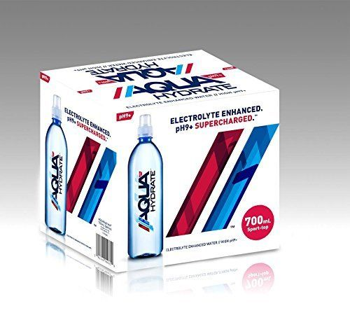 Aquahydrate Electrolyte Enhanced Water Ph9 Ogsksp 500ml Pack Of 72