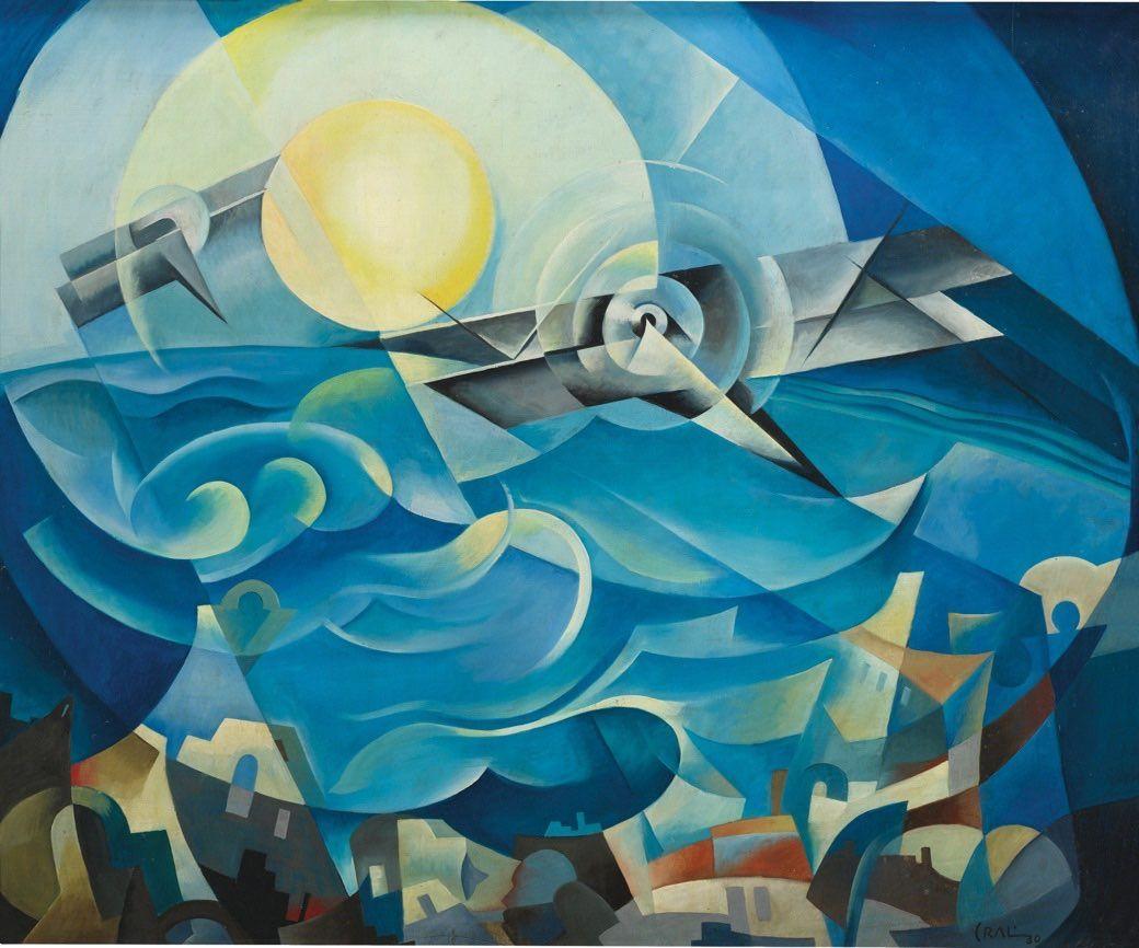Crali futurismo tullio crali las pinturas de un for Minimal art obras y autores