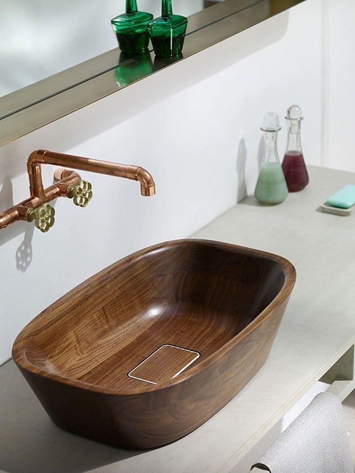 #Anders #Badezimmer #denken #Holzwaschbecken #Ideen #mit Anders denken- 29 Badezimmer Ideen mit Holzwaschbecken - #Anders #Badezimmer #badezimmeramaturen #denken