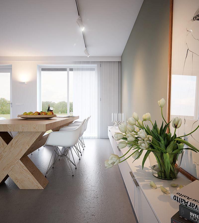 Love the X-table! :) | Ingrid Schatzi | Pinterest | Cocinas blancas ...
