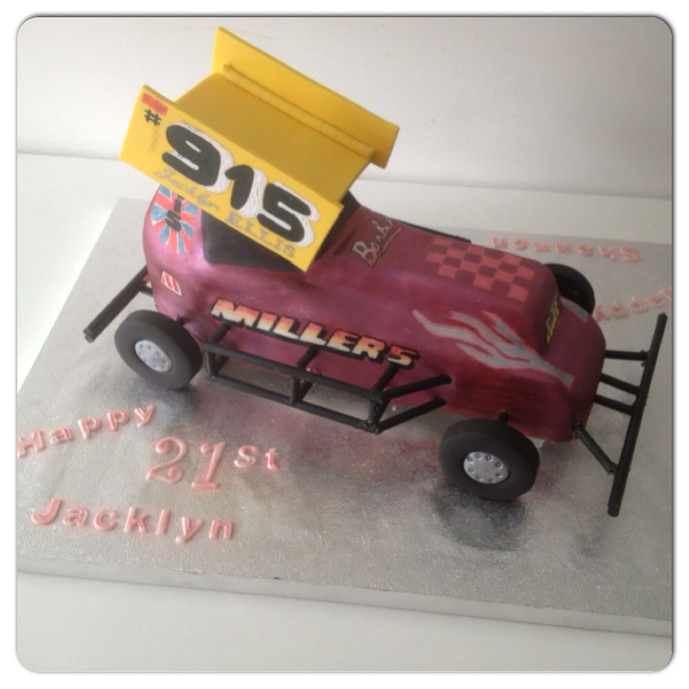 BriSCA F2 Stock Car Cake Mollies board Pinterest Car cakes and