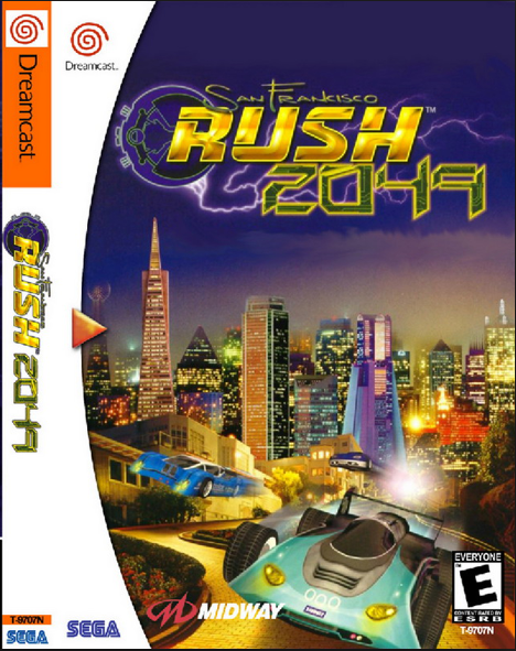 San Francisco Rush 2049 Dreamcast ISO Free Download | Retro Roms