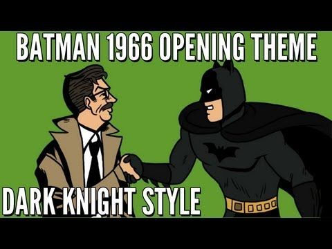 Batman 1966 TV Theme (Dark Knight Style) [HD]