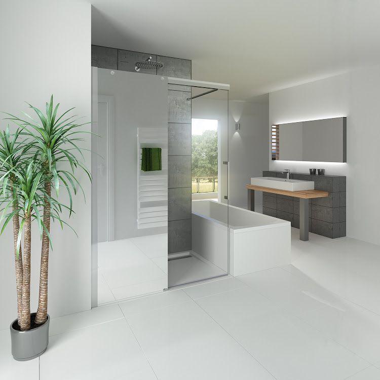 hsk duschkabinenbau kg walkin k2p walk in gleitt r hsk duschen walk in pinterest. Black Bedroom Furniture Sets. Home Design Ideas