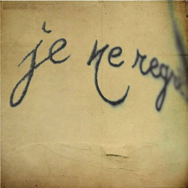 French Tattoo Je Ne Regrette Rien No Regrets: Je Ne Regrette Rien Tattoo Inspiration Letters