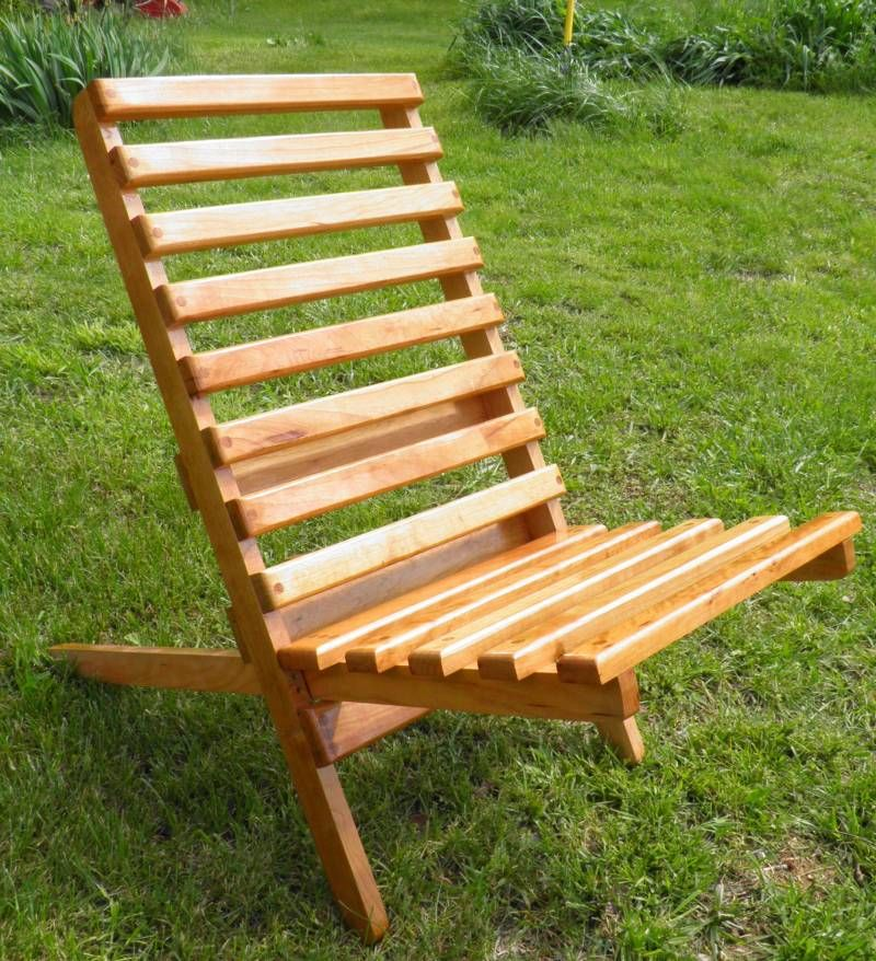 Civil War Folding Camp Chair Plan Rendezvous Wooden